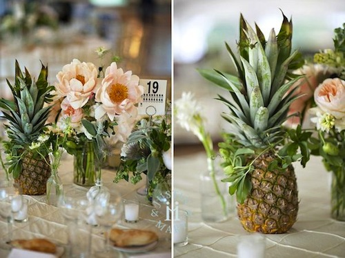Wedding Gift Hawaii Suggestions : Una boda con sabor tropical Con tacones y de boda