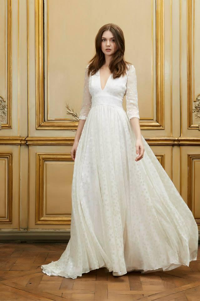 Vestido novia frances